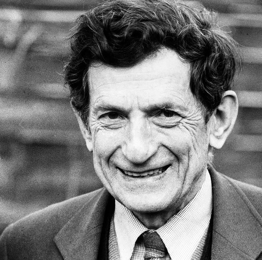 Prof. David Bohm, FRS (UK, 1917-1992)